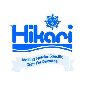 Hikari-logo-[blue on white][species specific diets][ribbon]2.5x2.5in-1306